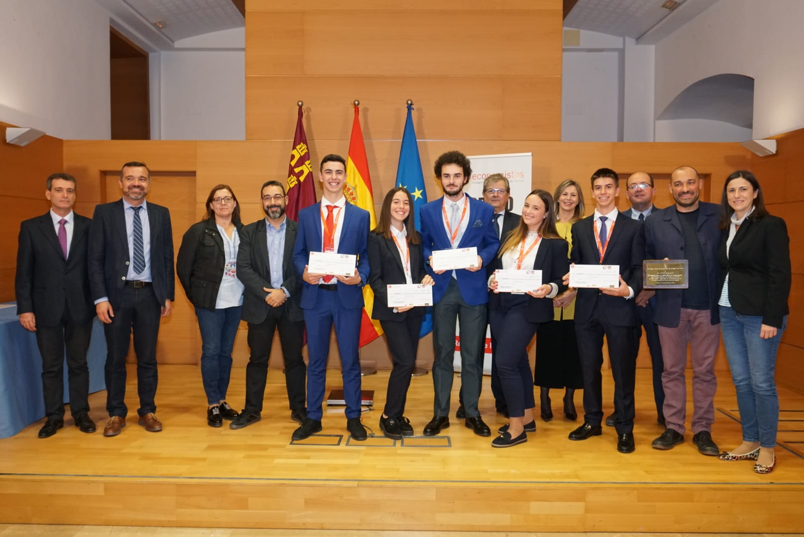 Vencedores I Torneo Debate Económico